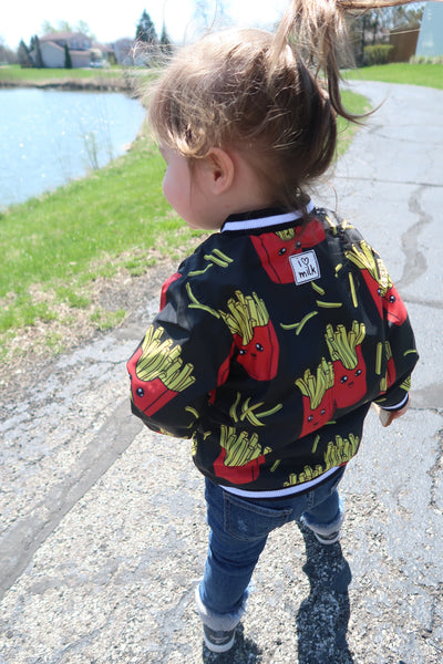 French Fry Bomber Jacket