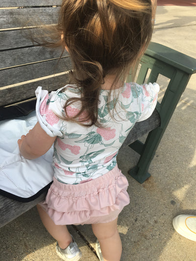 Butterfly Bloomers for baby girls | Gabri Isle