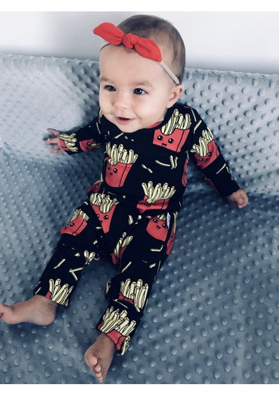 French Fry Romper