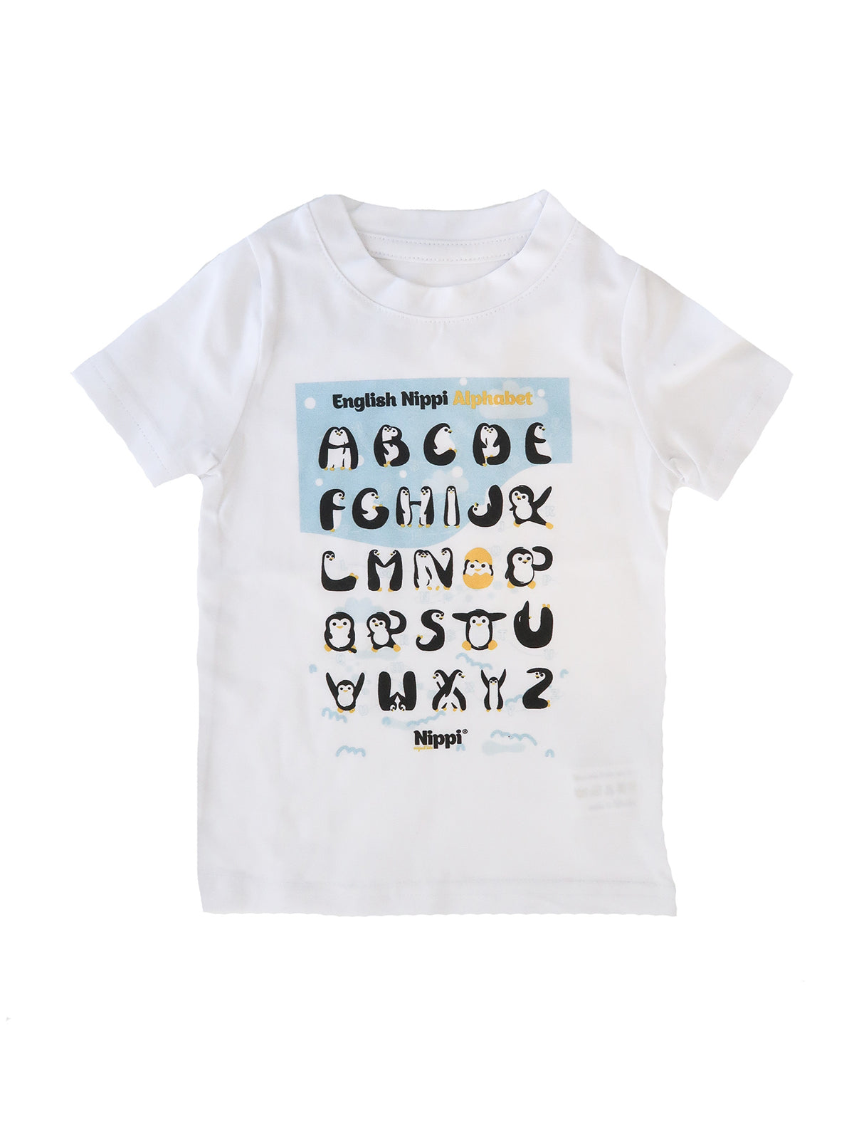 penguin alphabet t-shirt for the coolest of kids