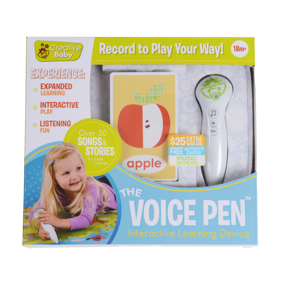 Voice Pen With Interactive Flash Cards