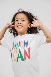 I KNOW I CAN TODDLER TEE