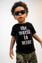 Load image into Gallery viewer, THE WORLD IS MINE TODDLER TEE