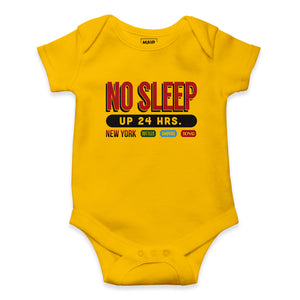 NO SLEEP ONESIE