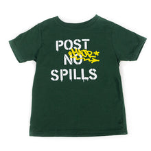 Load image into Gallery viewer, POST NO SPILLS TODDLER TEE