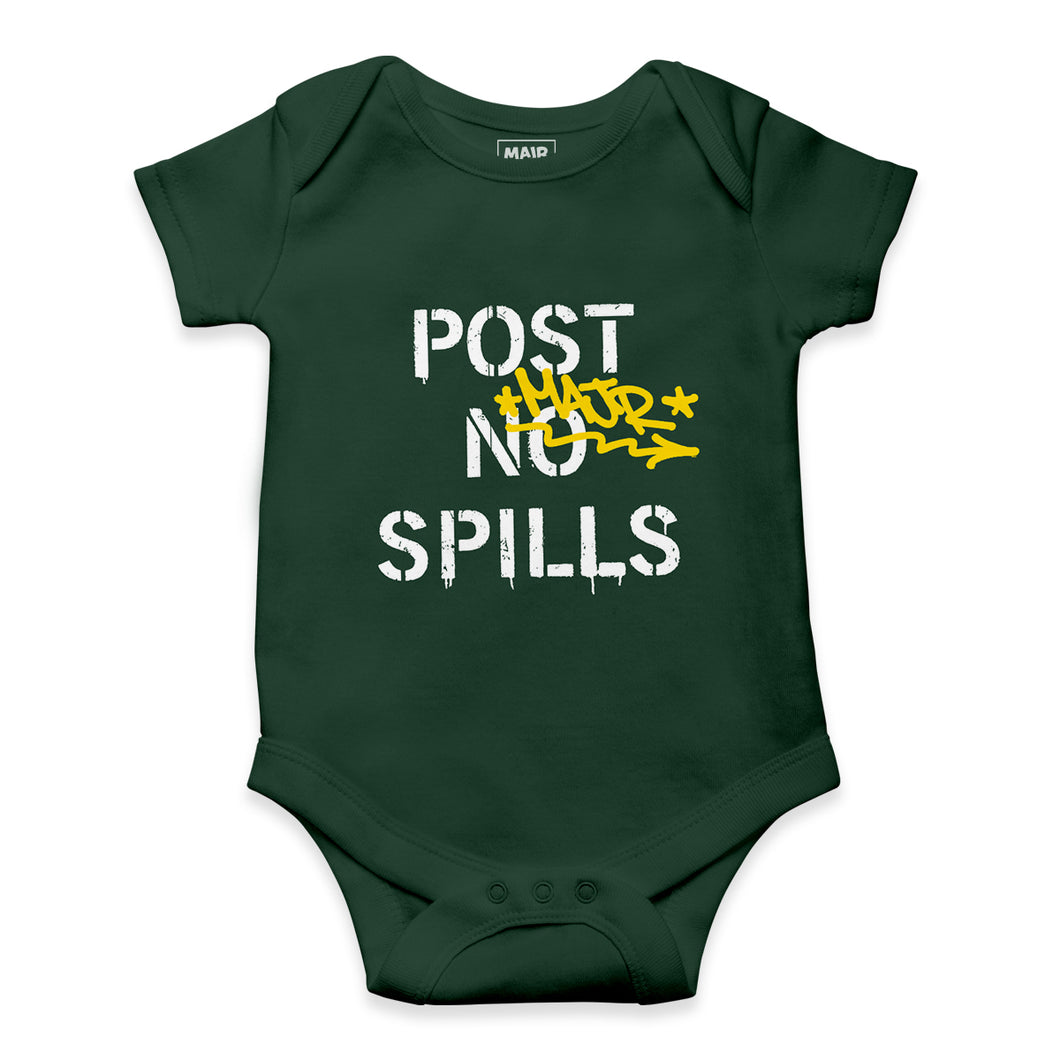 POST NO SPILLS ONESIE