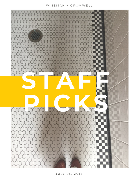 STAFF PICKS WEEK 3