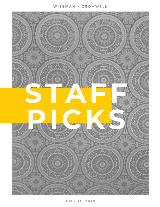 STAFF PICKS WEEK 1