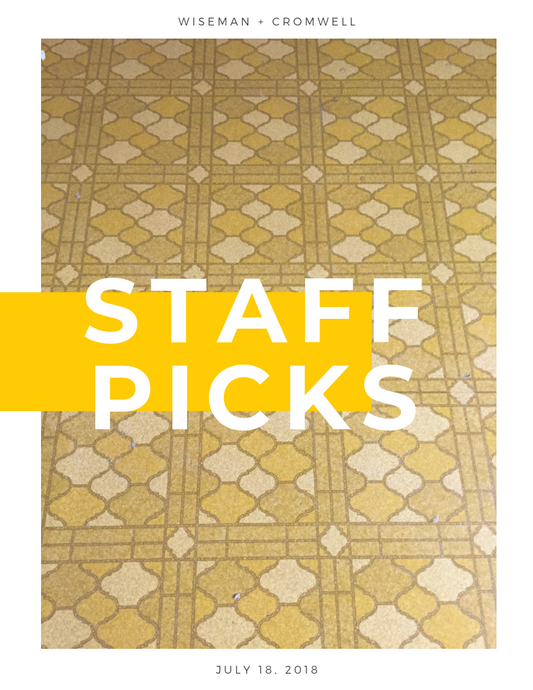 STAFF PICKS WEEK 2