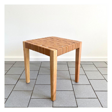 Load image into Gallery viewer, Parlour Collab - Leather Braided Side Table