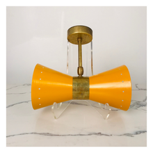 Load image into Gallery viewer, Set of 2 Italian Atomic Wall Sconces