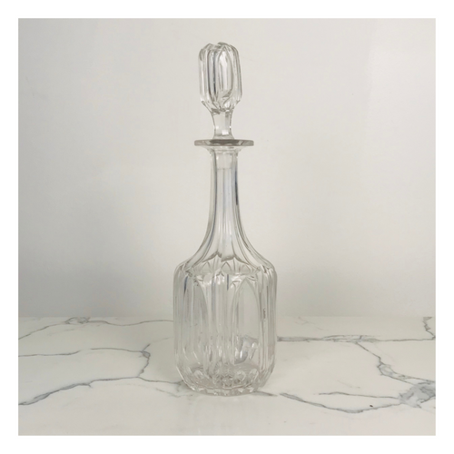 Glass-Cut Decanter