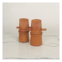 Load image into Gallery viewer, Dansk Pepper Mill and Salt Shaker Set (2 pieces)