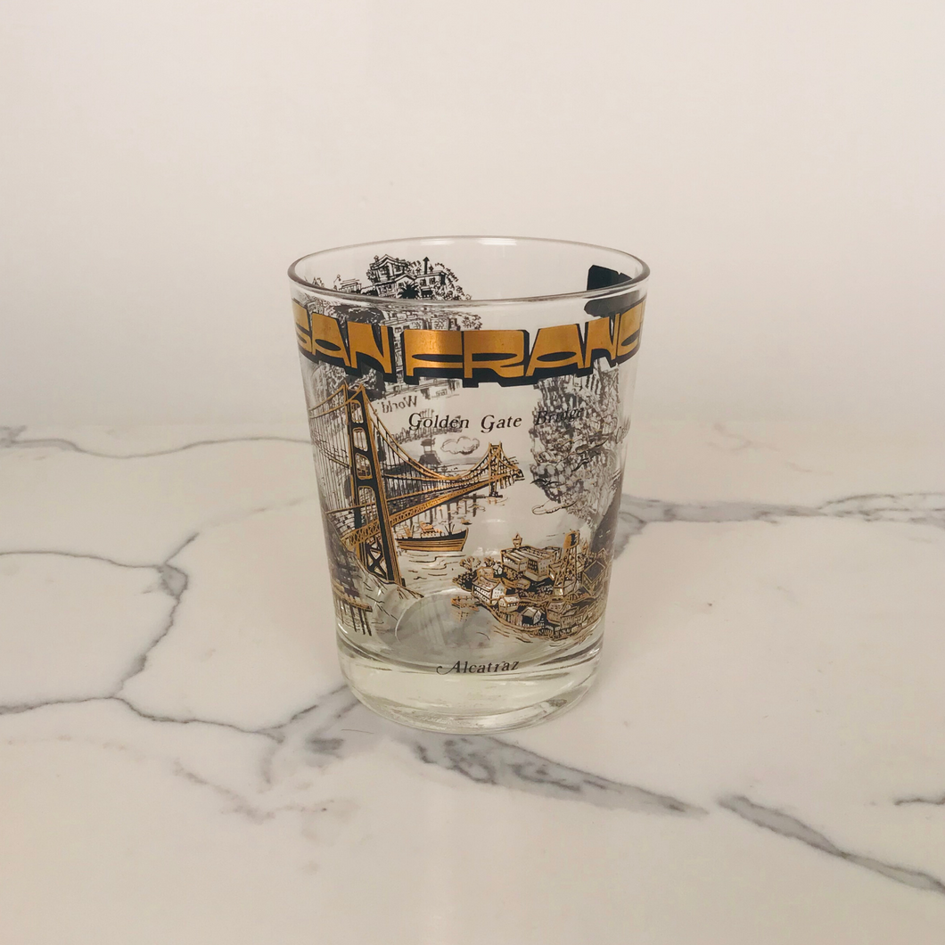 San Francisco Tourist Glass