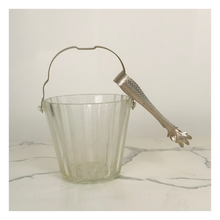 Load image into Gallery viewer, Crystal Ice Bucket with Tongs