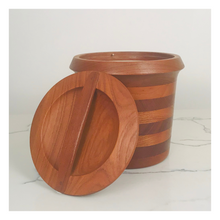 Load image into Gallery viewer, Wiggers MCM Danish Teak Ice Bucket