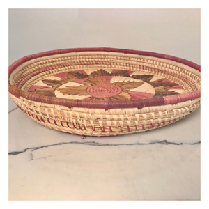African Woven Wall Basket