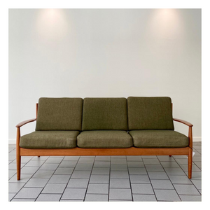Parlour Collab - France and Sons Teak Mid-Century Modern Sofa