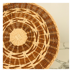Small Wicker Charger Plate