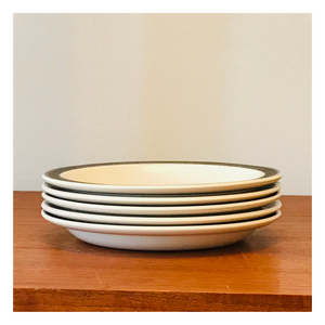 Set of 5 'Parkdale' Poole Saucers