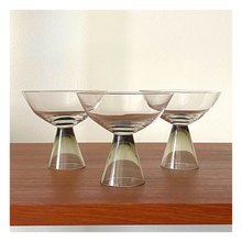 Load image into Gallery viewer, Set of 3 Rosenthal Fortuna Mini Coupe Glasses