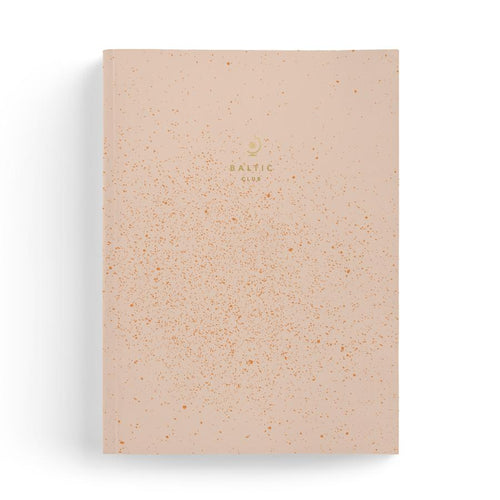 The Baltic club - Large notebook - Cosmic Pink