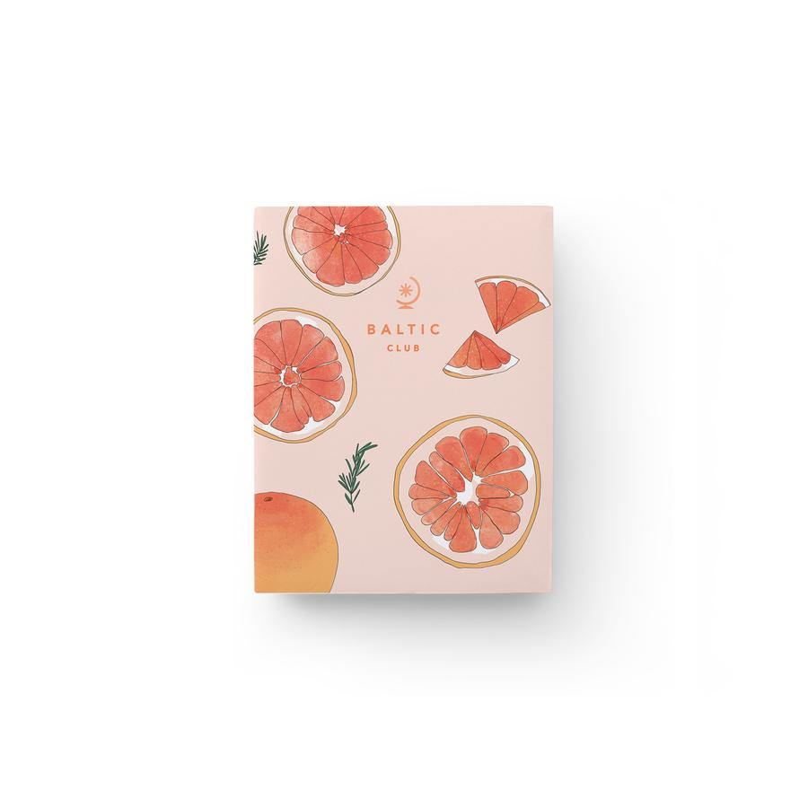 The Baltic Club - Grapefruit pocket notebook