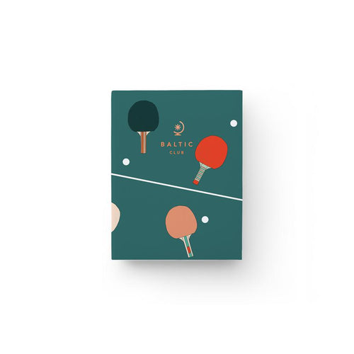 Ping Pong Pocket Notebook