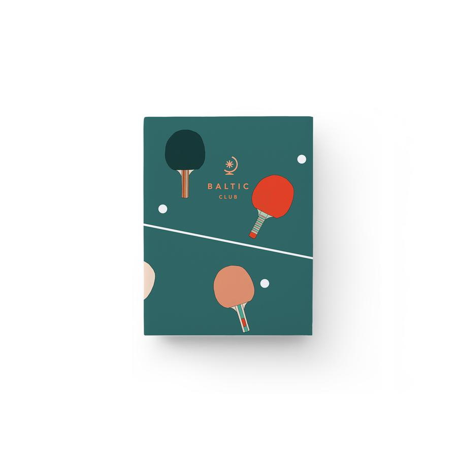 The Baltic Club - Ping Pong Pocket notebook