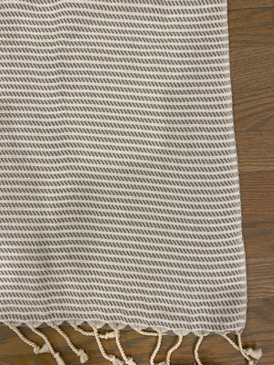Zig Zag Turkish Bath Towel