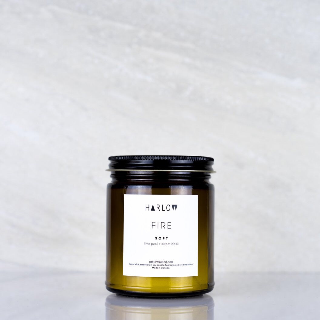 Harlow 8oz essential oil candle - Soft