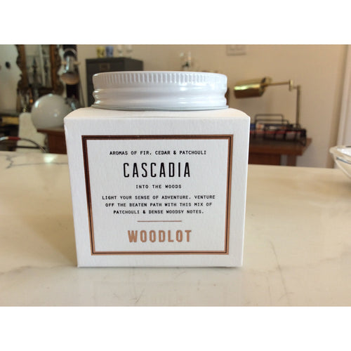 Woodlot 8oz candle - Cascadia