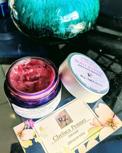 Grapeseed Body Butter Packaged in Glass Container