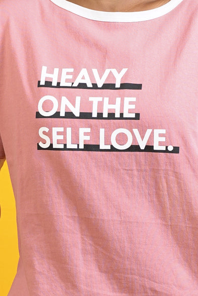 Heavy on the Self Love Dress - Free Size