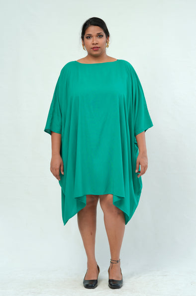 Free Size Miss Independent Kaftan - Jade Green