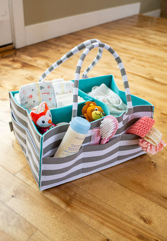 diaper caddy new mom baby tips