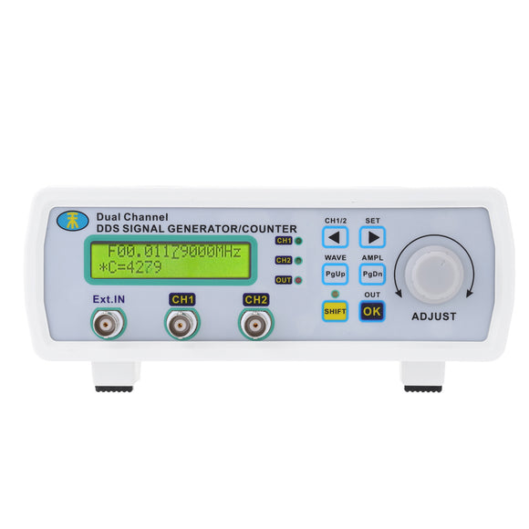 Digital DDS function generator signal generator sine wave frequency generator Arbitrary Waveform Frequency Meter 200MSa/s 25MHz