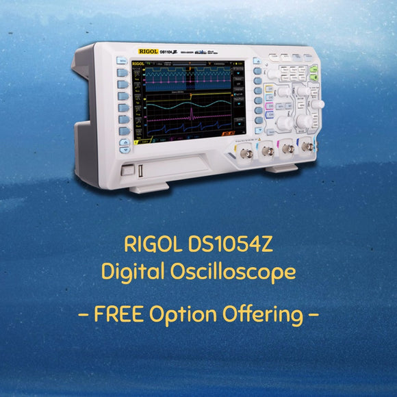 RIGOL DS1054Z 50MHz Digital Oscilloscope 4 analog channels 50MHz bandwidth