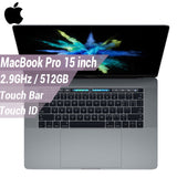 Apple Macbook Pro 15' i7 Laptop 512GB 16GB 2133MHz 2.9Ghz LPDDR3 Ultraslim Notebook ( Multi-Touch Bar & Touch ID )(Latest Model)