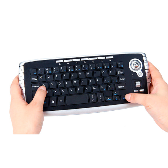 2016 New Mini 2.4Ghz Wireless Keyboard Touchpad With Mouse Professional Gaming Keyboard  For PC PS4 Smart TV