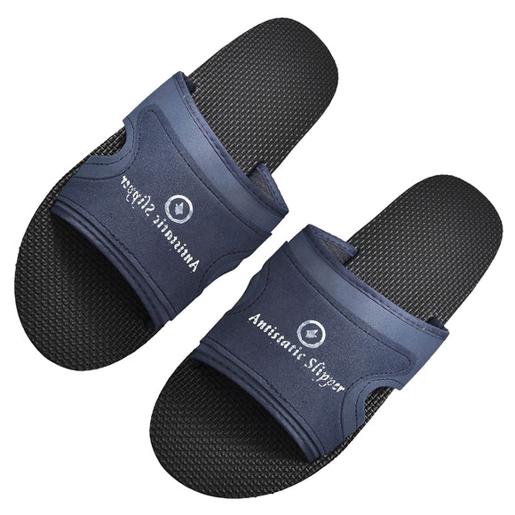 indoor slippers unisex Navy Blue Foam Anti Slip Antistatic ESD Slippers for Men
