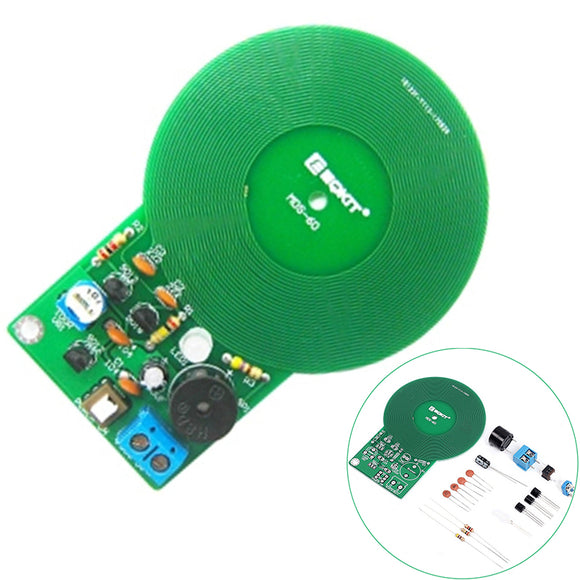 IS DIY Kit Metal Detector Kit Electronic Kit DC 3V-5V 60mm Non-contact Sensor Board Module DIY Electronic Part Metal Detector