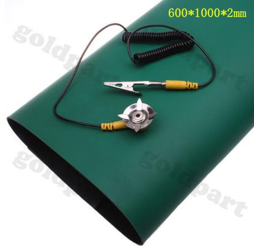 Anti-Static Mat 600*1000*2mm Antistatic Blanket ESD Mat For Phone Notebook PC Repair Work+Ground Wire