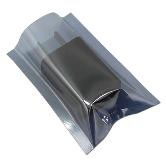 400 Pcs/ Lot 5cm*8cm Open Top Anti-Static Shielding Plastic Packaging Bag ESD Anti Static Storage Bag Electronics Package Pouch