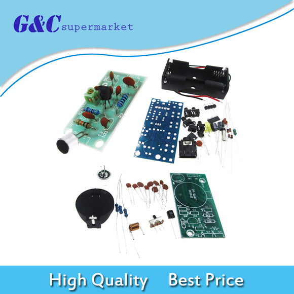 FM Radio Receiver Module Wireless Microphone Module PCB DIY Electronic Kits