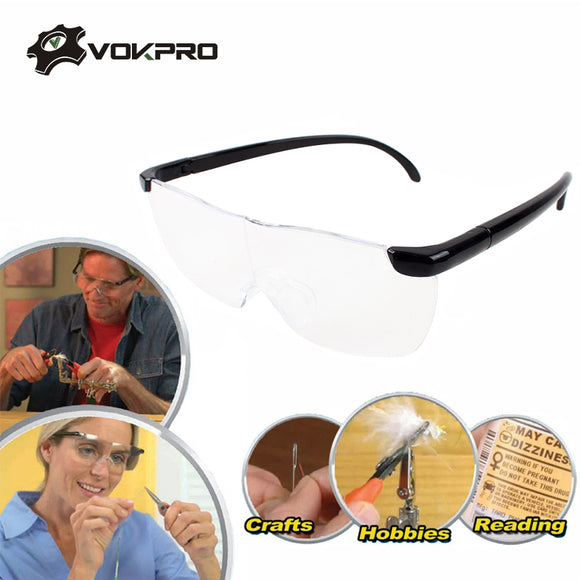 250 Degree Magnifying Glasses Magnifier Eyewear Presbyopic Lupa Spectacles Eye Protection Fashion Portable Magnifying Glasses