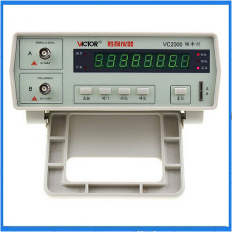 Multifunctional VC2000 Frequency Counter Testing Meters 8-bit Led Display