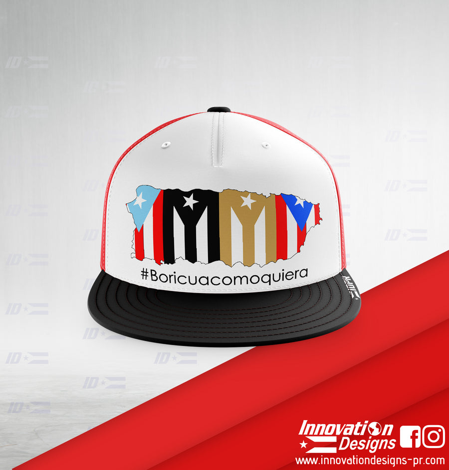 #Boricuacomoquiera PR Map Trucker