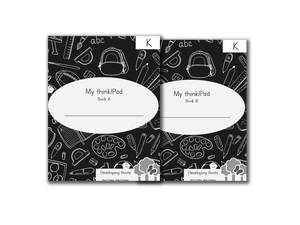Developing Roots Kindergarten Student think!Pad Book A & B                 (Sold in Packs of 10)