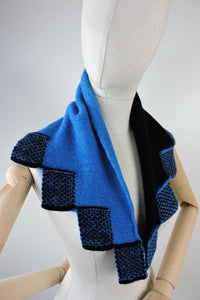 Split colour neckerchief
